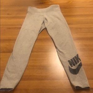 Gray Nike Leggings